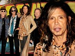 Back to the day job! Steven Tyler gets ready to hit the road with Aerosmith after quitting American Idol