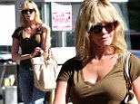 Melanie Griffith out and about in Beverly Hills.