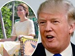 Trump says Kate only has herself to blame