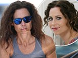 Minnie Driver pumps some gas in Hollywood