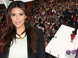 Kim Kardashian makes a personal appearance at Westfield Southland on behalf of the new QuickTrim range on September 21