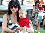 Selma Blair's blue eyed boy Arthur has her smiling again as he shares his wonder at the world