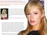 'I am so sorry': Paris Hilton apologises for controversial AIDS comments and says gay people are 'the strongest people I know'