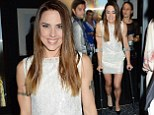 They say break a leg! Mel C leaves Jesus Christ Superstar after-party on crutches after spraining ankle earlier in the day... but she still manages show