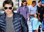 Missing Suri? Tom Cruise left Annabel's private members' restaurant and nightclub in London in the early hours of Thursday morning. He's in the city filming new thriller All You Need Is Kill