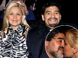 Football legend Diego Maradona, 51, and his girlfriend Veronica Ojeda expecting first child together