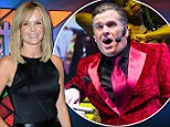 She's a style Superstar! Amanda Holden shows off elegant chic look as stars turn out to watch Chris Moyles in Jesus Christ show