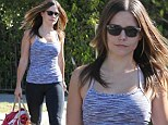 No pain, no gain: Sophia Bush shows off her athletic figure in workout gear as she hits the gym for another session