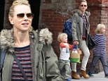 Naomi Watts and her sons Samuel and Alexander