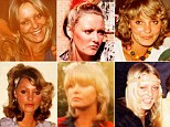 Changing styles: Susan Parker-Jones's different looks over the decades