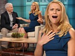 'I'm so excited!': Pregnant Homeland star Claire Danes opens up about impending motherhood to Anderson Cooper