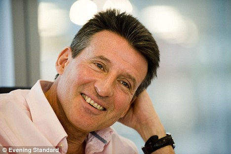 Popular: A survey of women looking for an older man found former middle distance runner Lord Coe, 55, was the chap they would most like to date