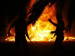 Raid: Protesters have driven out the Ansar al-Sharia militia from its headquarters in Benghazi