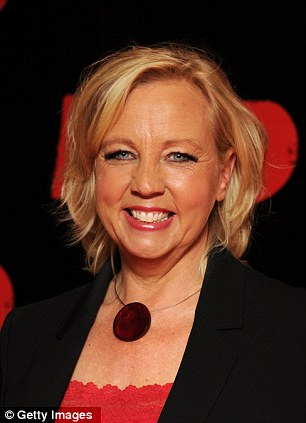 Dragon's Den star Deborah Meaden and TV funny woman Dawn French topped the list as men's secret celebrity guilty pleasure