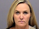 Traced: Wendy Ronelle Dye, 43, a flight attendant for Horizon Airlines was arrested after a missing iPad was traced it to her home using an app
