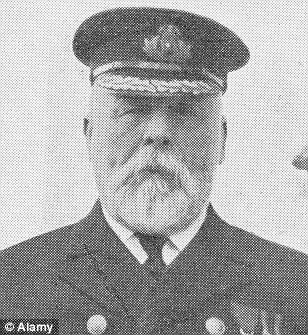 Captain Edward Smith went down with the Titanic