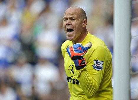 Not impressed: Brad Friedel says Fabian Barthez's comments were disrespectful