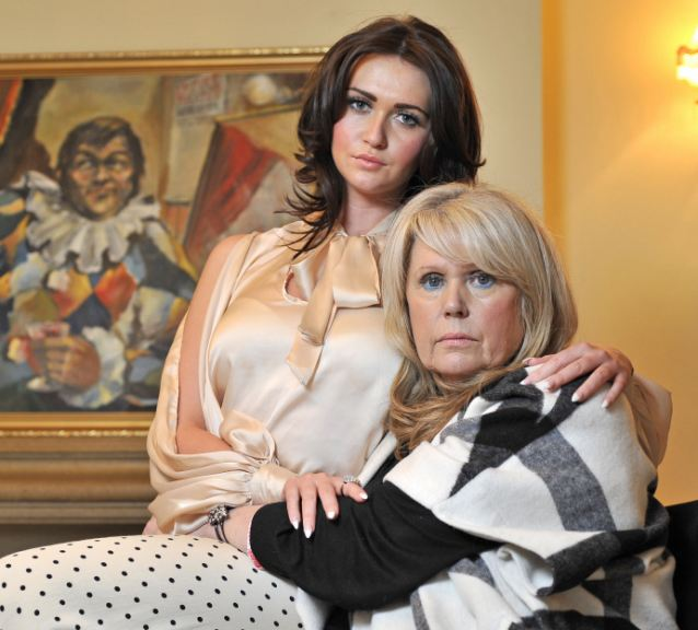 Keeping his legacy alive: Widow Tracy and daughter Charlotte have compiled a new Les Dawson's joke book