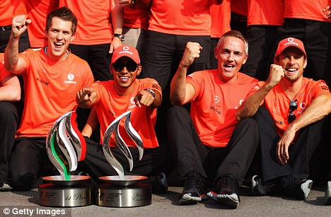 Staying together: Will Hamilton and Button both be at McLaren next season