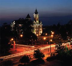 Auburn at Twilight