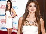 Gomez raises temperatures in white hot dress at Hollywood premiere of Hotel Transylvania