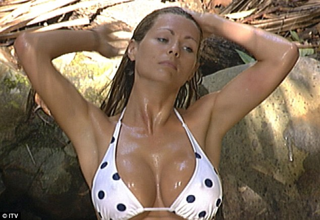 Nicola's spotted Down Under: Nicola McLean on I'm A Celebrity in 2008