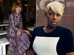 Anna Wintour gives NeNe Leakes her seal of approval as Real Housewife is snapped for latest issue of Vogue