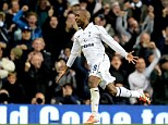 Main man: Jermain Defoe celebrates scoring the winner for Spurs against QPR