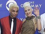 No Doubt: Gwen Stefani and Tony Kanal, centre, pictured in 2002, revealed that they found their break-up hard when in the band