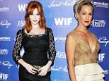 Christina Hendricks and Jennie Garth at the Variety and Women in Film Pre-Emmy event held at Scarpetta on September in Beverly Hills, California