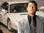 White hot wheels! Leonardo DiCaprio takes flashy Ferrari for a spin during late night filming The Wolf of Wall Street