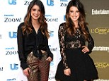 Shenae Grimes wore two different outfits on the same day to Hollywood events