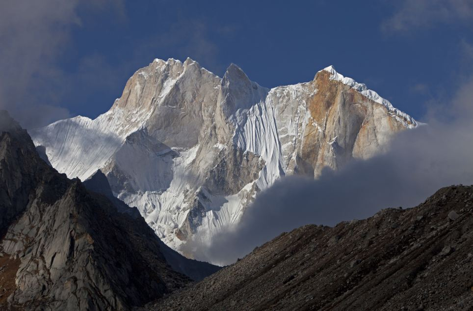 Determined: Mr Anker had attempted to climb the notorious route twice before - in 2003 and 2008 - and came within 150 metres of the summit during his second go