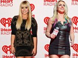 Fashion swap! X Factor judges Britney Spears and Demi Lovato appear to have switched styles at iHeartRadio event