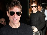 No cozy nights in for single man Tom Cruise as he hits the West End again
