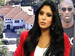 Kobe Bryant's soon to be ex-wife, Vanessa, is selling a Newport Beach property he surrendered to her