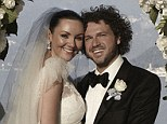 Perfect Moment: Martine McCutcheon and Jack McManus tied the knot in a romantic ceremony on the shores of Lake Como, Italy