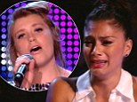 'You can¿t judge that you just have to be honoured' : Nicole Scherzinger breaks down in tears as 16-year-old Ella Henderson performs