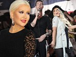 'He's my brother': Christina Aguilera admits she will miss The Voice rival Adam Levine following her departure