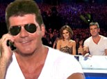 Simon Cowell tries to boost X Factor UK ratings with cameo... as it is revealed bosses want him back permanently