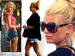 She loves her denim shorts! The star in her cut-offs and right as Daisy Duke in the 2005 film the Dukes of Hazzard