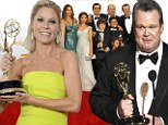 Modern Family sweeps the Emmy Awards, taking the prize for Best Comedy along with acting gongs for Eric Stonestreet and Julie Bowen