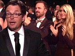 On their feet! Appearance by Michael J Fox prompts spontaneous stranding ovation at the the Emmys