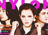 Nylon cover October issue featuring Emma Watson