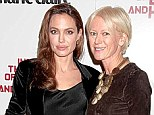 Does Angelina, pictured with Joanna, really need sex advice? She and ex Billy-Bob Thornton were said to have had a sex dungeon