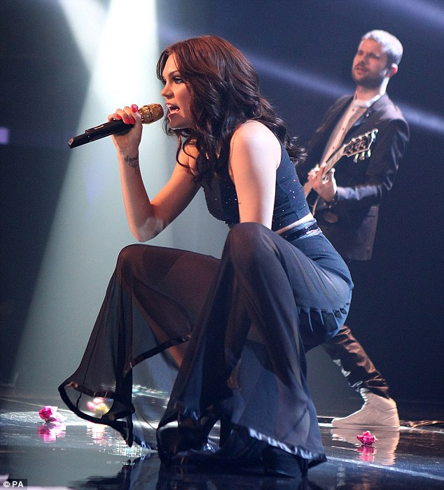 Emotional show: Jessie J wowed on Friday during her set at the iTunes Festival at the Roundhouse in Camden