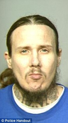 Sex offender: Kevin Long had been released from an eight year prison term less than 24 hours before the attack