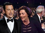 Emmy host Jimmy Kimmel kicks his own parents out of the awards ceremony for 'lying to me'