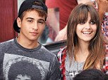 Fledgling romance? Paris Jackson was joined by a handsome young man in LA on Sunday