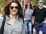 Daniel Craig and Rachel Weisz seen hand-in-hand while they walking together in New York City